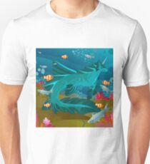 hippocampus mythology seahorse Unisex T-Shirt