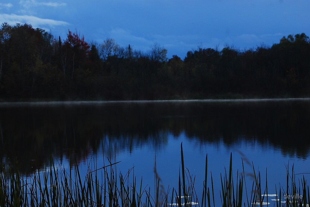 innis lake at twilite by deville