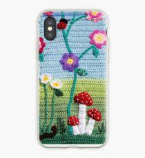 Garden of Imagination Toadstools iPhone Case