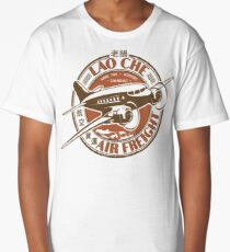 Lao Che Air Freight White Long T-Shirt