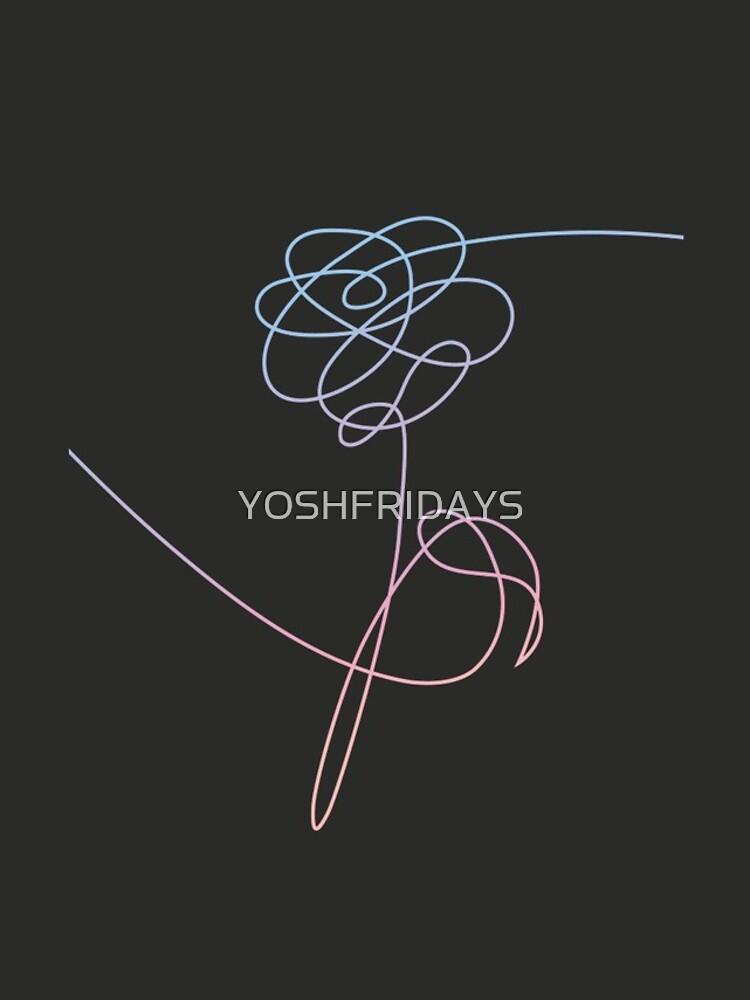 BTS LO AMA A TI MISMO FLOR # 2 de YOSHFRIDAYS