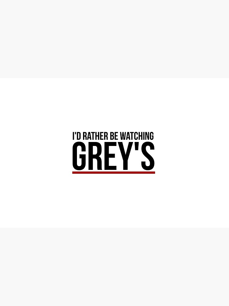 rather be watching grey's by dancingmandy96