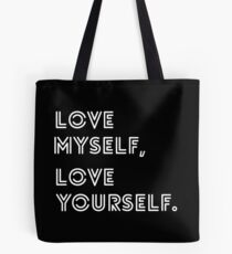 LOVE YOURSELF BTS Tote Bag