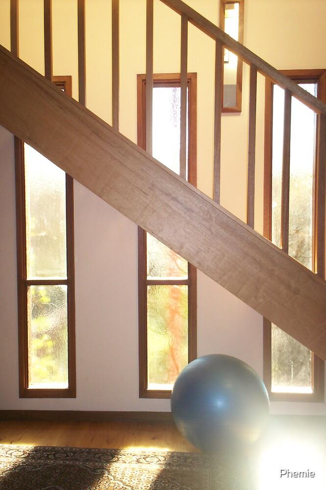 windows and sunlight by Phemie