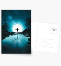 Den Mond umarmen Postkarten