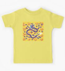 CHINA, Chinese, Flag, Banner, Eight Banners of the Qing Dynasty Kids Clothes