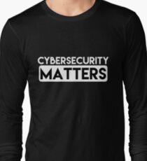 Cybersecurity Matters - HaxByte [HaxByte] T-Shirt