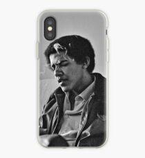 Vinilo o funda para iPhone Young Barack Obama - Fumar Imprimir