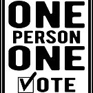 One Person One Vote by EthosWear