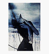 Blue oblivion... Photographic Print