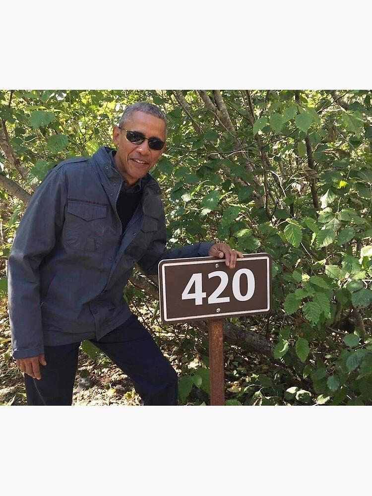 420 Obama Druck von budgetnudest