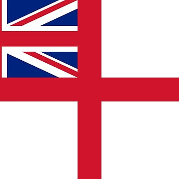 WHITE ENSIGN, Naval Ensign of the United Kingdom, The White Ensign or the St George's Ensign, used by the Royal Navy. on NAVY by TOMSREDBUBBLE