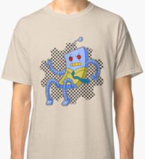 Angry robot. Classic T-Shirt