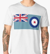 Air Force, Ensign, of the United Kingdom, UK Men's Premium T-Shirt