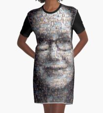 Mary McDonnell Major Crimes Mosaic Graphic T-Shirt Dress
