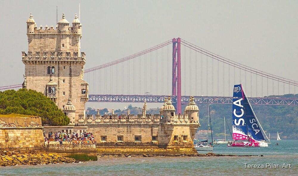 belem tower.lisbon.portugal by terezadelpilar ~ art & architecture
