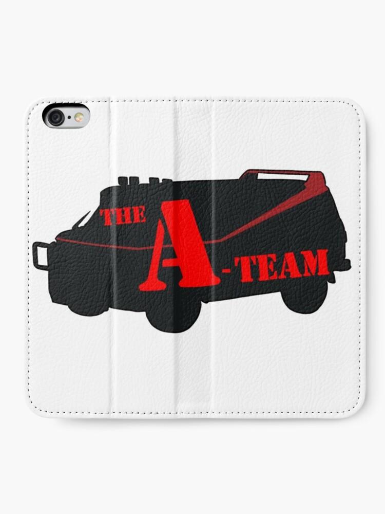 Alternative Ansicht von Das A-Team! iPhone Flip-Case