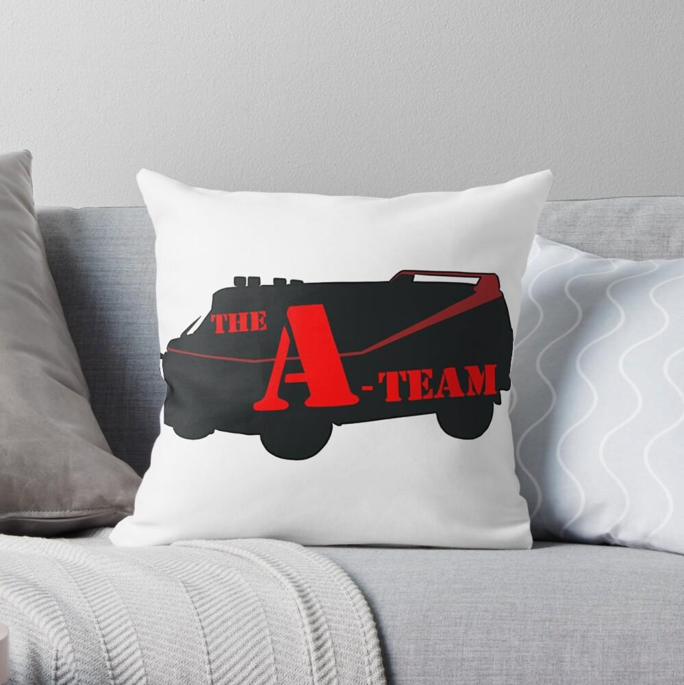 Das A-Team! Dekokissen