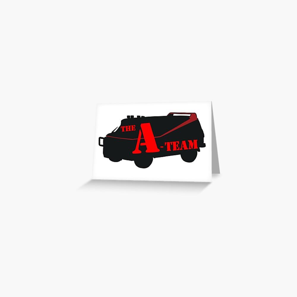 Das A-Team! Grußkarte