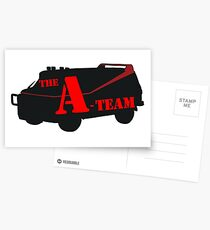 The A-Team! Postcards