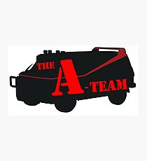 The A-Team! Photographic Print
