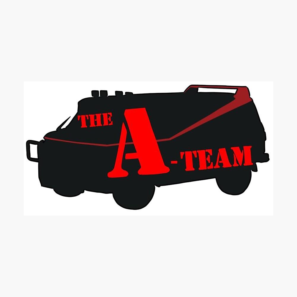 Das A-Team! Fotodruck