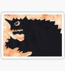 Orange Kaiju Sticker
