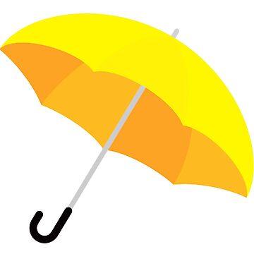 Yellow Umbrella by Pierpax21