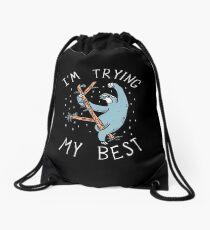 Sloth Shirt Drawstring Bag
