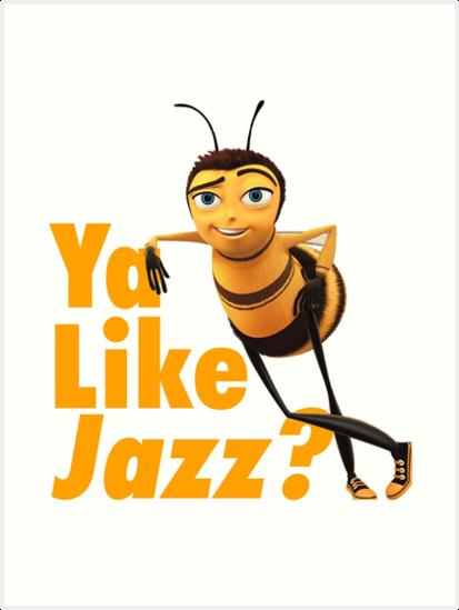 Lámina artística «Ya Like Jazz?» de TMurphyTime   Redbubble