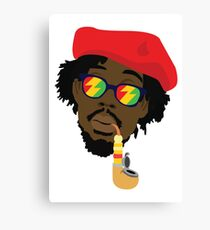 Peter Tosh pipe Canvas Print