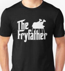 The Fryfather Thanksgiving Turkey Fryer Dad Design Unisex T-Shirt