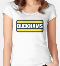Duckhams Motor Oil Women's Fitted Scoop T-Shirt