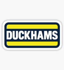 Duckhams Motor Oil Sticker