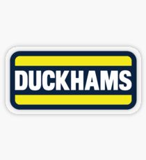 Duckhams Motor Oil Transparent Sticker