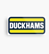 Duckhams Motor Oil Metal Print