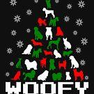 Woofy Christmas Dog Tree by EthosWear