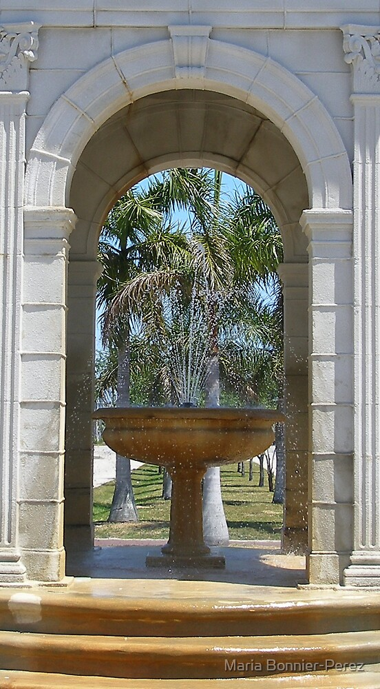 Fulford By the Sea Fountain by Maria Bonnier-Perez