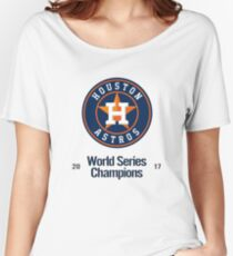 Houston Astros Women's Relaxed Fit T-Shirt