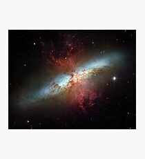 Hubble Space Telescope Print 0007 - Starburst Galaxy M82 - hs-2006-14-a-full_jpg Photographic Print