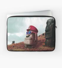 Moai Mario (Mario Odyssey) Laptop Sleeve