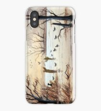 Setting Out The Decoys II iPhone Case