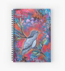 Bird Messages Spiral Notebook