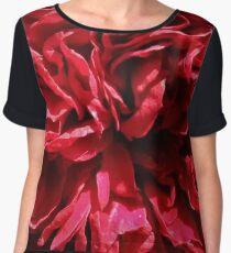 Flamingo Rose Chiffon Top