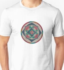 tantra wheel 2 white Unisex T-Shirt