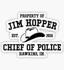 Jim Hopper Sticker