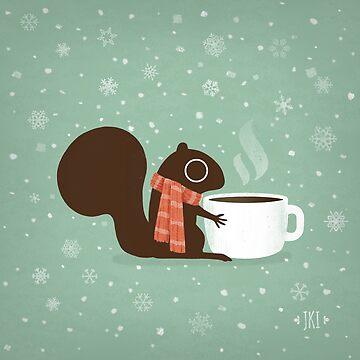Eichhörnchen Kaffee Urlaub von ShortCoffee