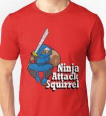 Ninja Attack Squirrel Unisex T-Shirt
