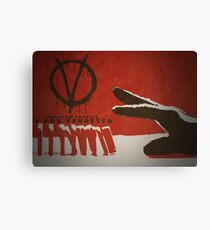 V pour Vendetta Impression sur toile