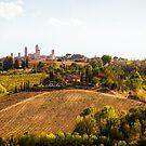 Tuscany Vista by Yannik Hay